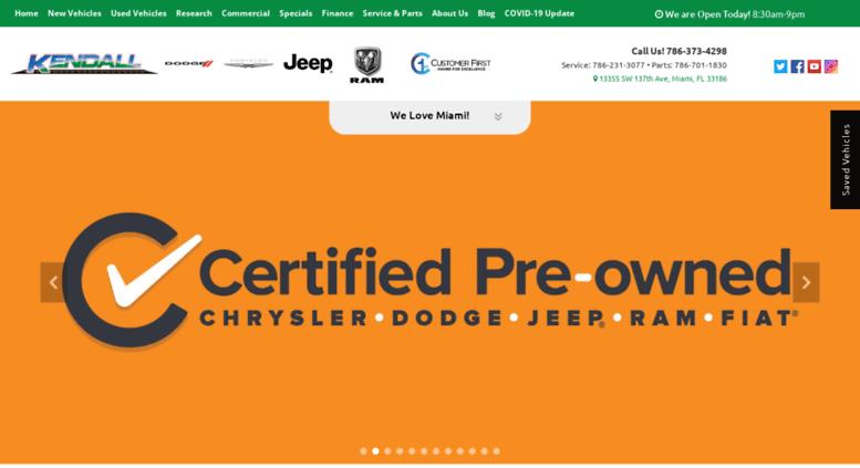 Kendall Dodge Chrysler Jeep Ram >> Access Kendalldodgechryslerjeepram Com Kendall Dodge