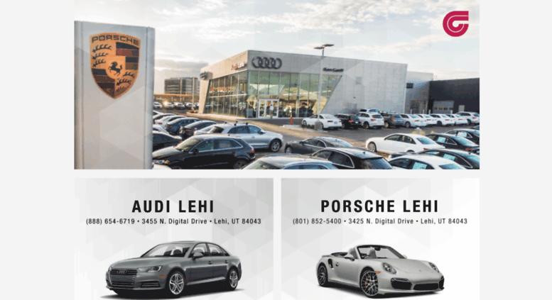 Ken Garff Used >> Access Kengarffpav Com Ken Garff Porsche Audi New And