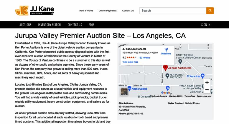 Access Kenporterauctions Com Police Auctions Online Auctions