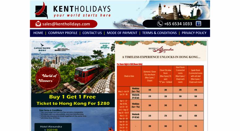Access kentholidays com  Tour Packages Singapore| Travel Agency