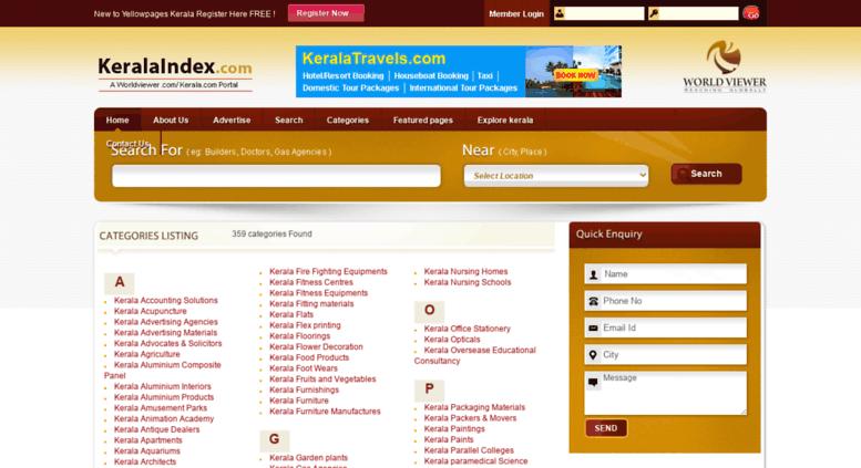 Access keralaindex com  Kerala Yellow Pages, Kerala Business