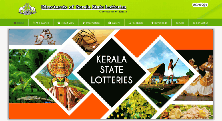 Access keralalotteries in  Kerala State Lotteries