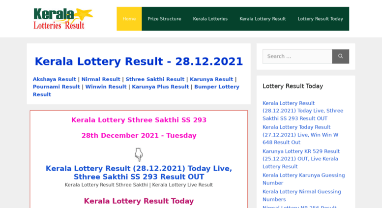 Access keralalotteriesresult in  Kerala Lottery Result|05 07