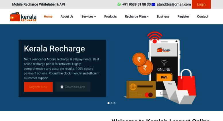 Access keralarecharge com  Kerala Recharge| Kerala mobile