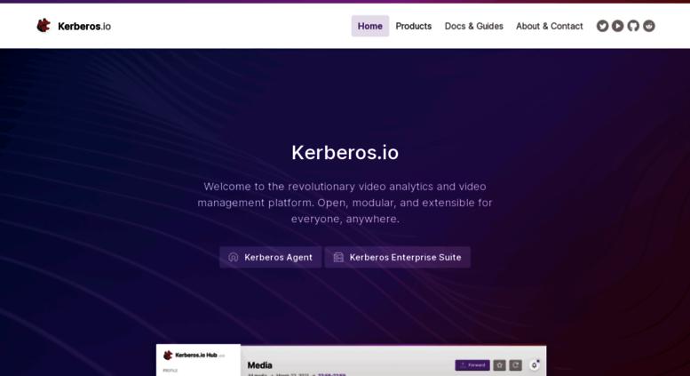 Access kerberos io  Kerberos io - free and cheap motion