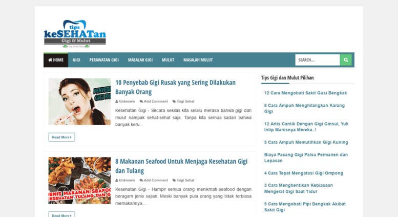 Access kesehatangigi.blogspot.co.id. Tips Kesehatan Gigi dan Mulut 4fa91a58ff