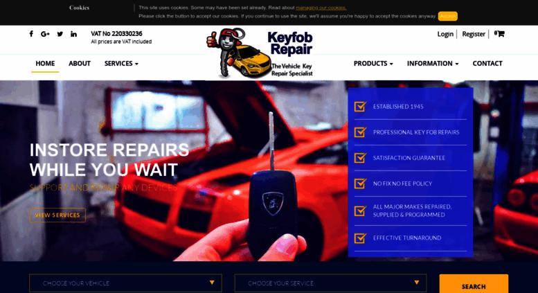 Access keyfobrepair co uk  Car Key Repair Service London