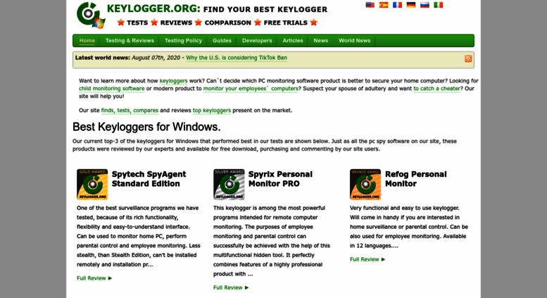 Access keylogger org  Best keyloggers 2018  Top keystroke
