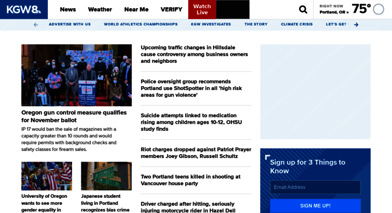 Access kgw com  Portland's Leading Local News: Weather, Traffic