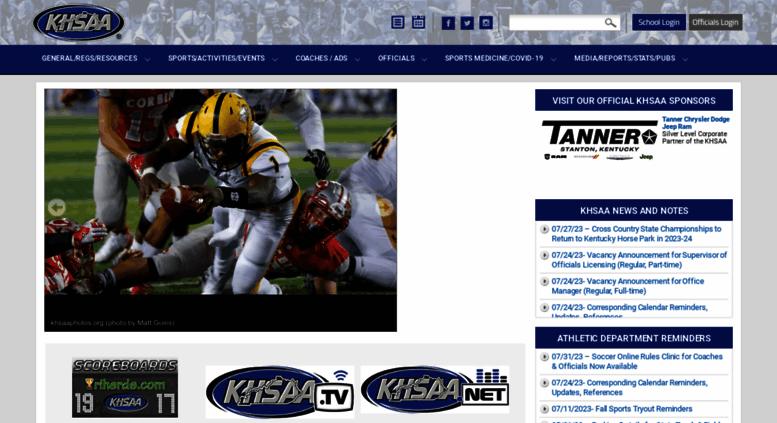 Access khsaa org  Kentucky High School Athletic Association | KHSAA