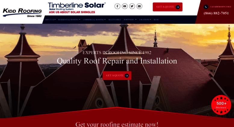 Roofer Austin San Antonio Dallas Tx Roofing Repair Kidd Roof