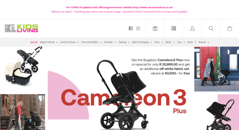 Access Kidsliving Co Za European Strollers Nursery