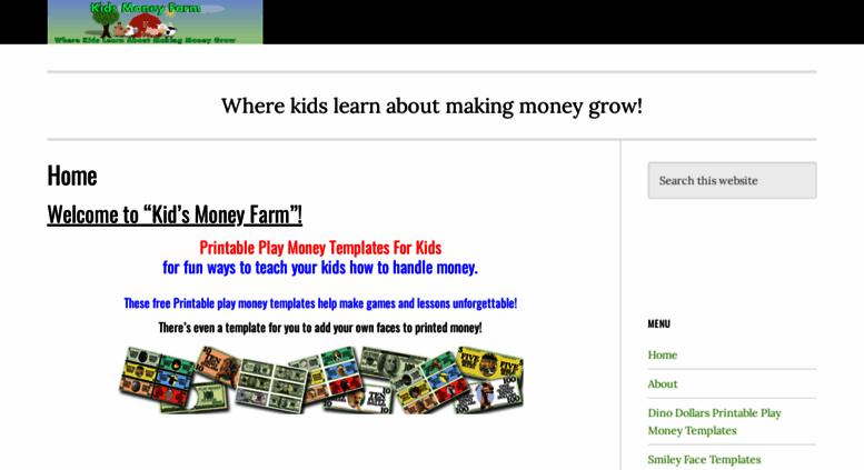 image regarding Printable Play Money for Kids identified as Attain . Printable Perform Monetary Templates
