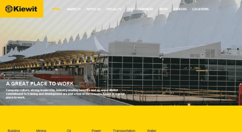 Access kiewit postclickmarketing com  Kiewit : Construction