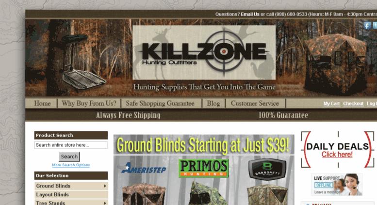 Access killzonehunting com  Hunting Gear & Accessories