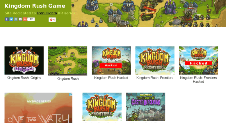 Access kingdomrushgame com  kingdomrushgame com - Registered at