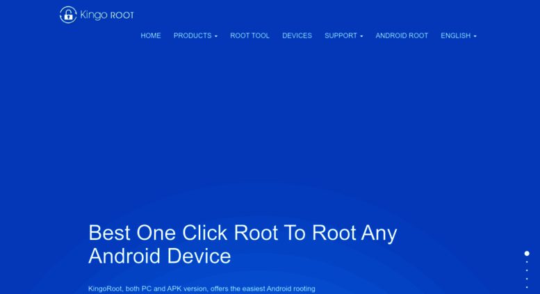 Access kingoapp com  KingoRoot for Android, the best One Click Root