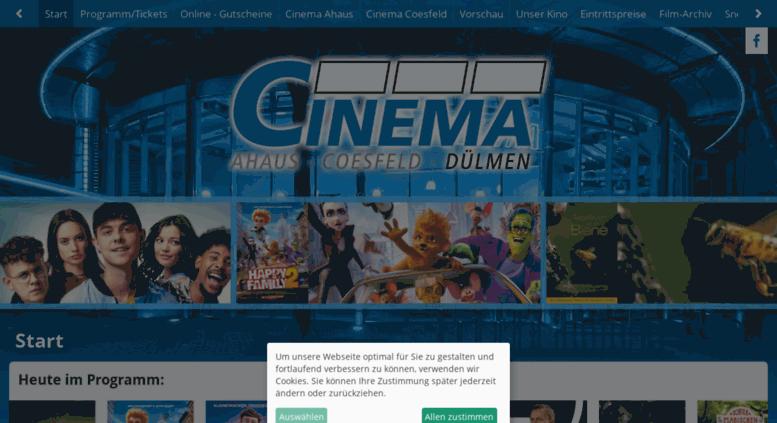 Kino Dülmen Filme