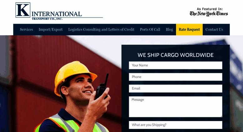 Access kinternational com  International Shipping Companies