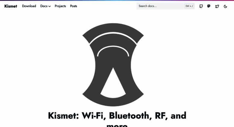 Access kismetwireless net  Kismet - Kismet