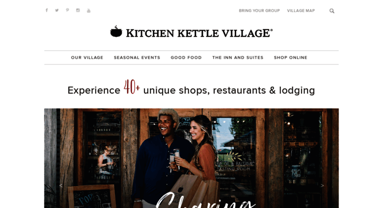 Access Kitchenkettle Com Kitchen Kettle Village In