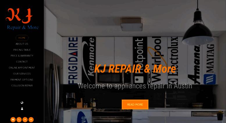 Access kjrepairs com  KJ Repair & More Pflugerville/Austin
