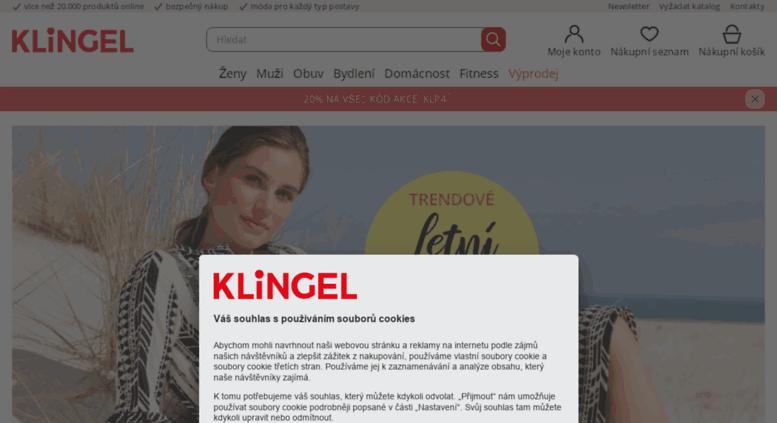 f98fbf56807370 Access klingel.cz. Klingel CZ Online Shop