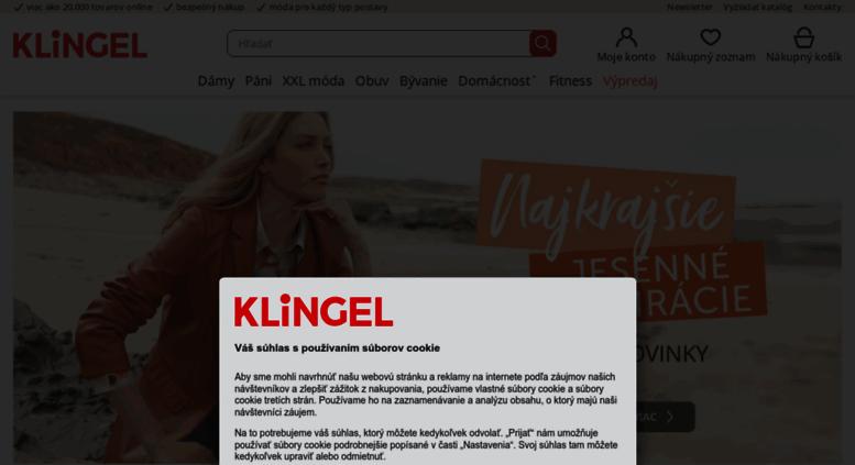 55de771d7c9f12 Access klingel.sk. Online shop plný módy