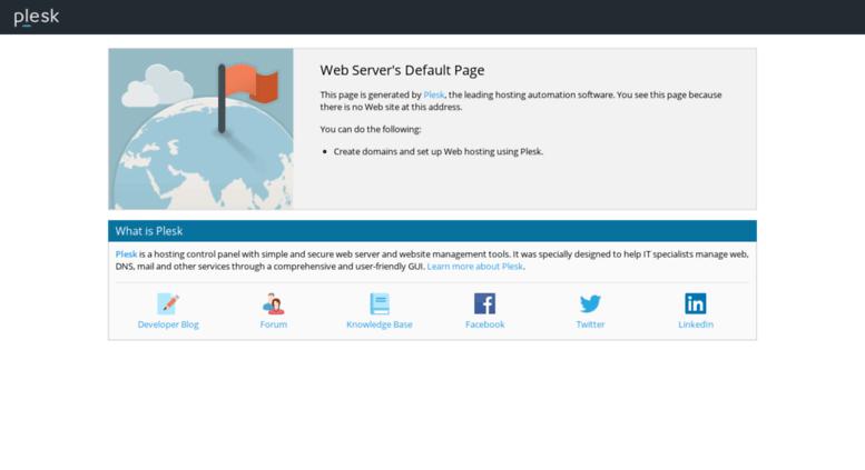 Access Kmvadilife Web Servers Default Page