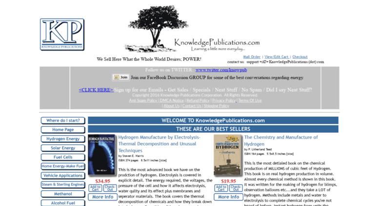 Access knowledgepublications com  Books on Solar, Hydrogen, Fuel