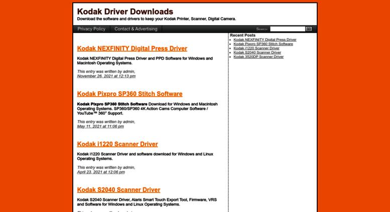 Kodak Verite 55 Plus Driver Windows 10 - senseopen's blog