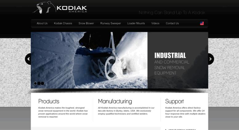 Access kodiakamerica us  Kodiak America   Industrial & Commercial