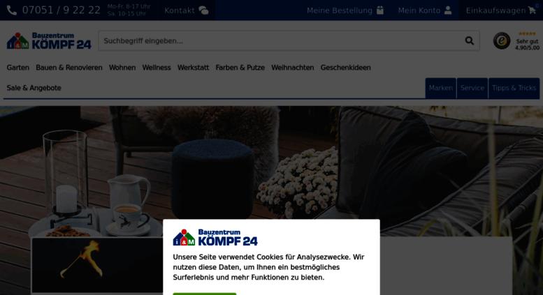 Access Koempf24de Koempf24 Ihr Profi Für Haus Heim Und Garten