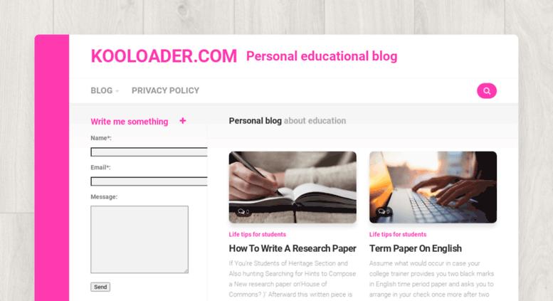 Access kooloader com  KooLoader | Download Managers