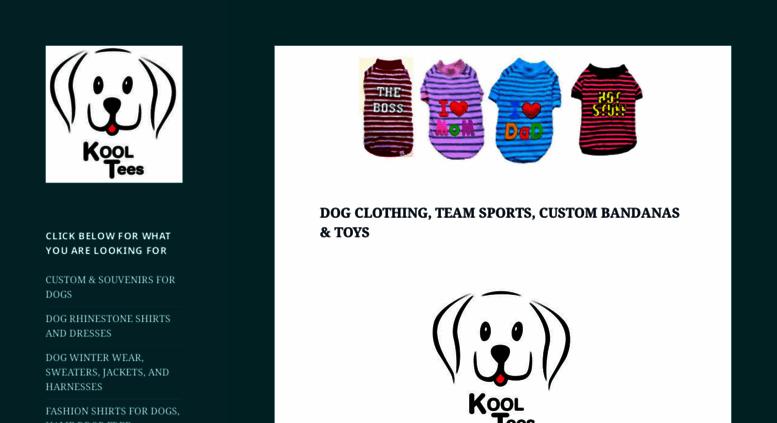 Access Koolteescom Koolteescom Dog Shirts Dog Sweaters Dog