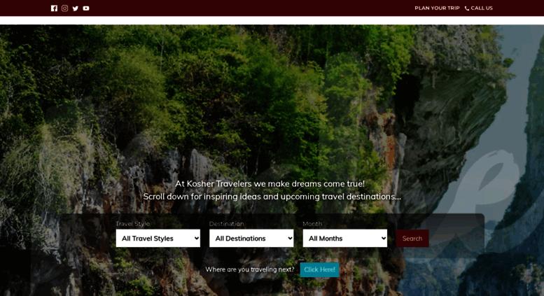 Access koshertravelers com  Kosher Cruises, Kosher Hotels and Kosher