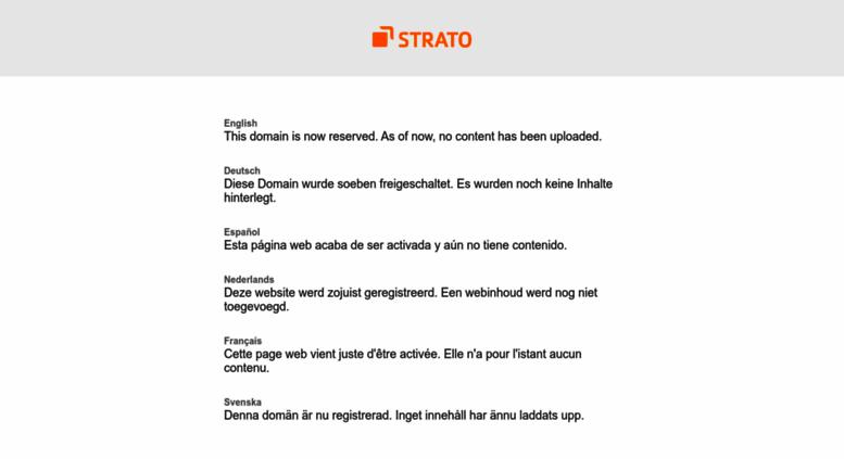 Access Kostenlos Online Spielen De Strato Domain Reserved