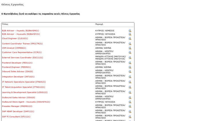 03e78fd6632 Access kotsovolosforms.applymycv.gr. Ευκαιρίες Καριέρας