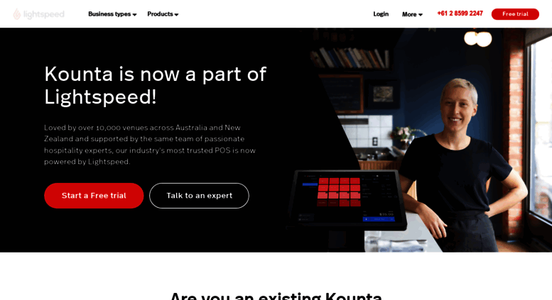 Access kounta com  Point of Sale : POS Software System by