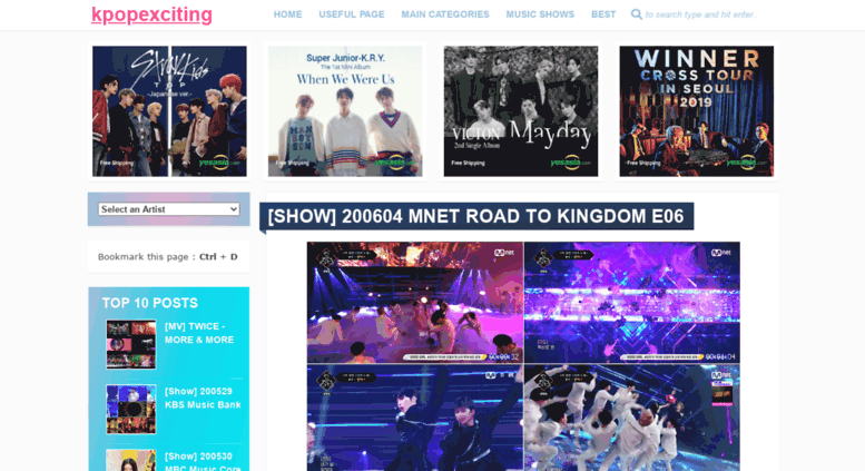 Access kpopexciting blogspot com co  K-POP EXCITING | Download