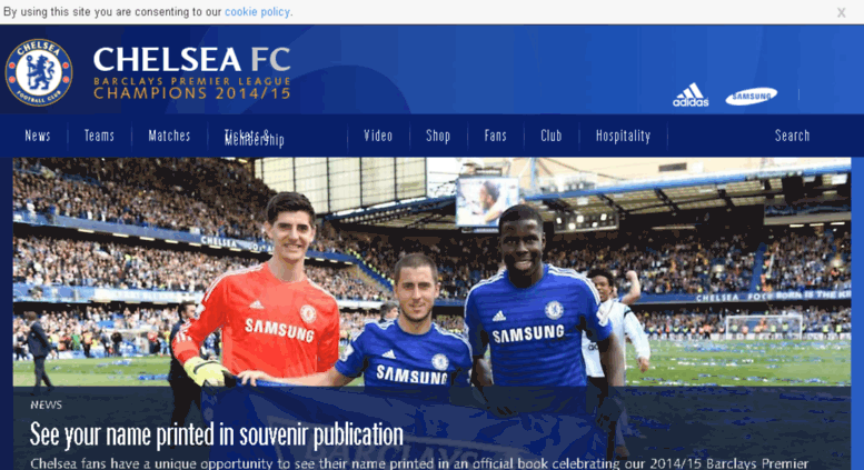 Access kr chelseafc com  Chelsea FC | Official Site for News