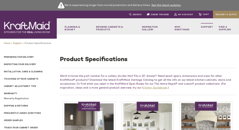 Kraftmaid Cabinet Sizes And Specifications Cabinets Matttroy