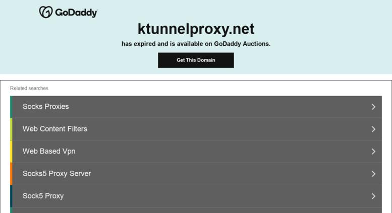 Ktunnel proxy 4