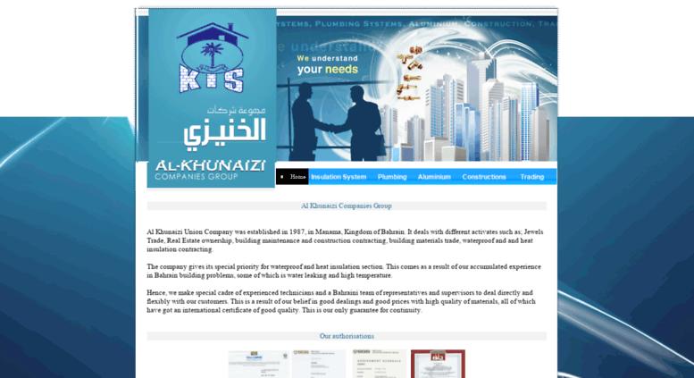 Access kuc-bh com  Al-Khunaizi Companies Group