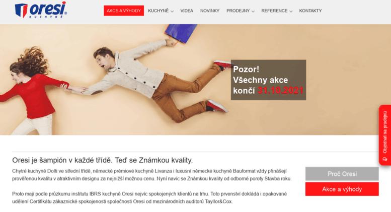 Access Kuchyne Oresicz Oresi šampión V Každé Třídě