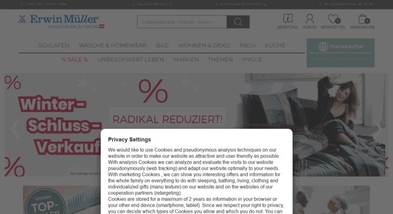 Access Kueche At Erwinmueller Com Erwin Muller Onlineshop