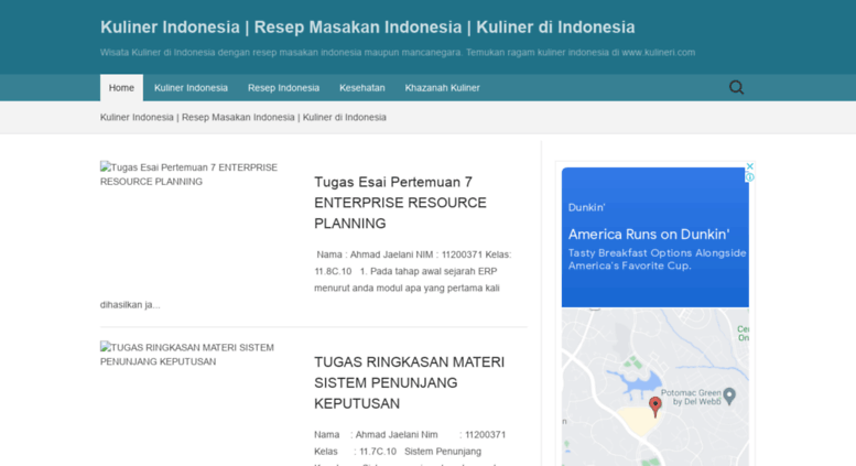 Access Kulineri Com Kuliner Indonesia Resep Masakan