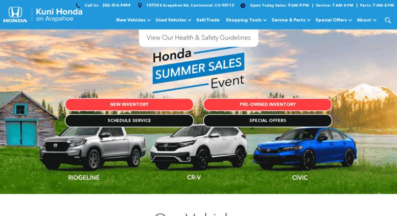 Honda Dealership Denver >> Access Kuni Honda Com Denver Honda Dealership Kuni Honda