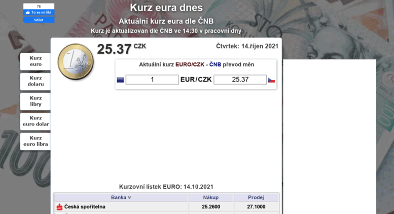 Kurz Euro