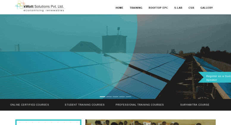 Access kwattsolutions com  kWatt Solutions Pvt Ltd   Solar